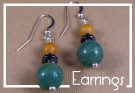 Stone Jewelry Box Shop Earrings