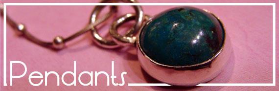 Stone Jewelry Box Shop Pendants